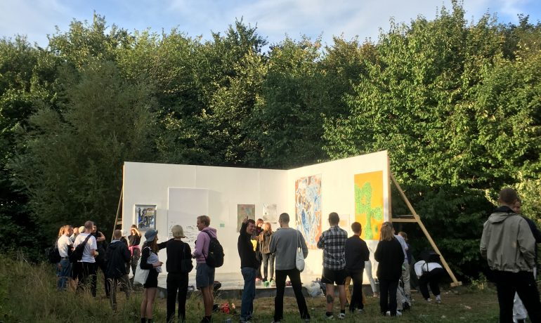 Kunstscenen - et anderledes kunstprojekt med støtte fra Dansk Mobil Beton