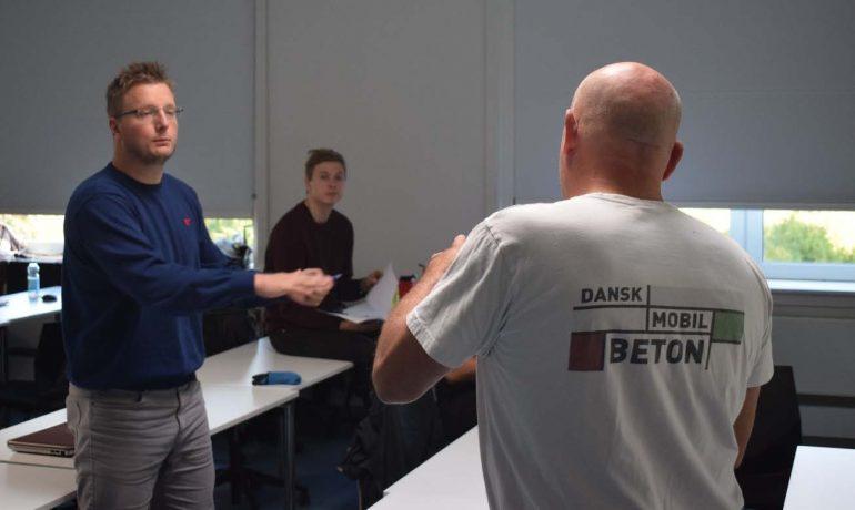 Dansk Mobil Beton deltager i Innovation Pilot på DTU